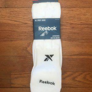 Reebok All Sport Athletic Knee High Socks Large